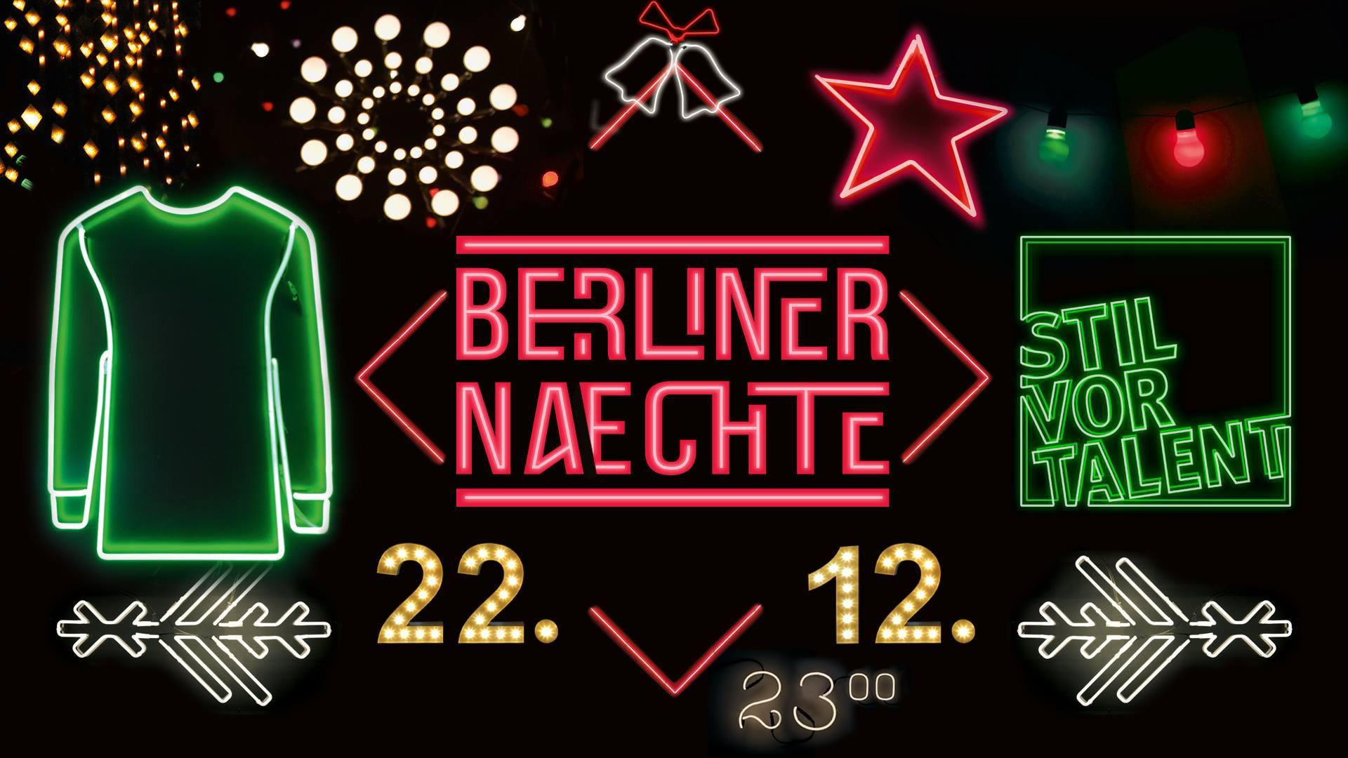 Berliner Nächte – Stil vor Talent Showcase
